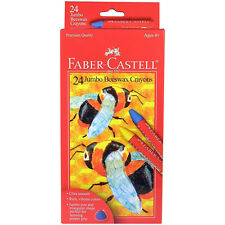 Faber-Castell Beeswax Crayons 24 Colors