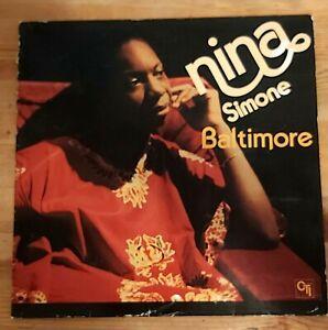 Nina Simone – Baltimore -1-Vinyl-LP-RAR - Auktion!