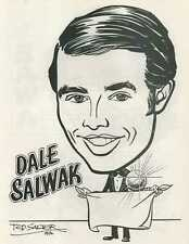 Dale Salwak collectibles 2 caricatures Magic Castle Ted Salter and Gary Darwin