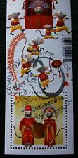 Chinese New Year Rat 2020 International Stamp Sheet Canada SPECIAL Cancellation