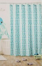 Pillowfort Planes Trucks Fabric Shower Curtain NIP