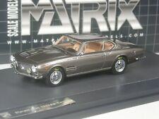 (KI-12-19) Matrix Moretti Fiat 2500SS Coupè 1962 in 1:43 in Conf. Orig.