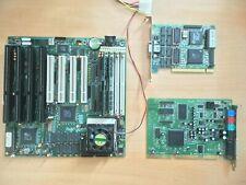 ACER ALi 1487/89 Socket 3 PCI Motherboard AMD 486 100MHz 32MB Tseng ET4000 W32