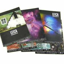 Leica fotografie - magazine 18x6 magazines 1958-1975