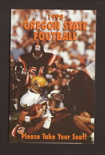 Oregon State Beavers--1998 Football Pocket Schedule--Budweiser