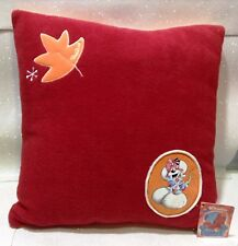 "DIDDL DIDDLINA CUSCINO IN PILE CUSHION PILLOW 38 X 38 CM 15"" X 15"" RARO"
