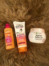 3 Haarpflege Produkte - L'Oreal und Garnier