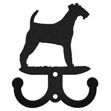 Swen Products Irish Wire Fox Terrier Metal 2 Hook Key Chain Holder Hanger