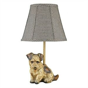 Victorian Trading Co Jack Russell Terrier Dog Lamp