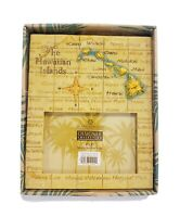 """Island Heritage """"The Hawaiian Islands"""" 4"""" x 6"""" Hand Painted Photo Picture Frame"""