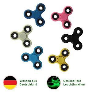 Fidget Hand Spinner LEUCHTEND Anti Stress ADHS Kinder Spielzeug Kreisel