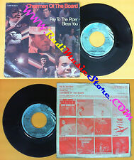 LP 45 7'' CHAIRMEN OF THE BOARD Pay to the piper Bless you germany no cd mc dvd