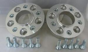 Skoda 5x100 57.1 to BMW 5x120 72.5 15mm Hubcentric PCD Adaptors - Steel Inserts