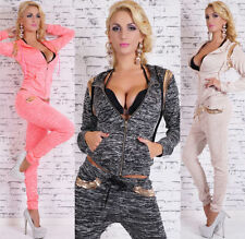 Polyester Hooded Tracksuits for Women