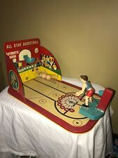 Vintage All Star Basketball Tin Toy by Marx Toys