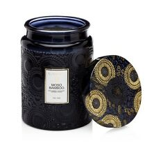 Voluspa Japonica Limited Large MOSO BAMBOO Glass Candle