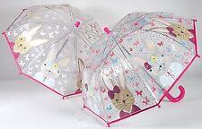 Floss & Rock Colour Change Umbrella Bunny Rabbit Have Fun In The Rain Girls Gift