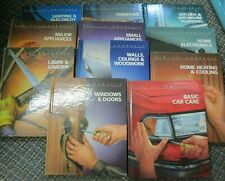 Time Life Books Fix It Yourself (Lot of 11 Books) 1987 Hardcover