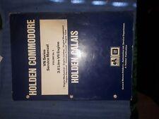 HOLDEN VN SERVICE MANUAL 3.8 V6 ENGINE FACTORY HOLDEN PUBLICATION