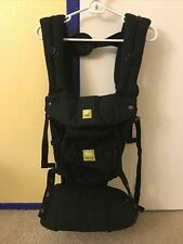 Lille Baby Complete 6 Position Baby Carrier - Black (Machine Washable)