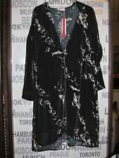 Sheego Blouse-Coat  * Mantel satin LONG Bluse 115 cm * Gr. 52  NEU Blusenmantel