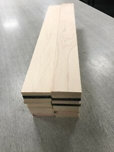 Maple Timber Offcuts 20 Length @ 58x10x400mm Long