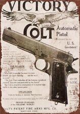 Metal Tin Sign victory colt Decor Bar Pub Home Vintage Retro Poster
