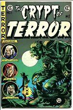Crypt of Terror #1 1973-East West-EC reprint-1st issue-Joe Orlando-Crandall-VG+