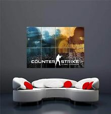 XBOX ONE PS3 PS4 PC GAME COUNTERSTRIKE 2 NEW GIANT WALL ART PRINT POSTER OZ1178