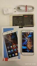 """Smartphone Lenovo Vibe K5 A6020a40 Dual Sim 16GB ROM 2GB RAM Display 5"""" Bianco"""