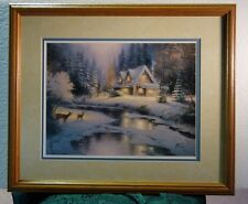 Thomas Kinkade Deer Craeek Cottage