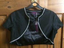 'DEBUT' BNWT ladies smart black bolero jacket UK SIZE 12 EX COND