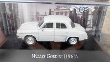 Rare Gray 1:43 Scale WILLYS GORDINI 1965 Diecast Model Car