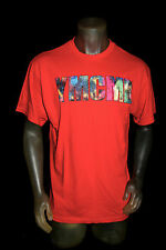 NEW YMCMB YOUNG MONEY men PIXELATED LOGO short sleeve crewneck TShirt red *LARGE