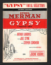 Gypsy Vocal Selections Ethel Merman - Stage Version Sheet Music