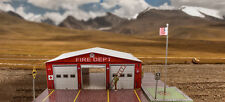"""BK 4814 1:48 Scale  """"Fire Department"""" Photo Real Scale Building Kit"""