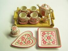 Re-ment dollhouse miniature Asian tableware 2004