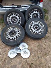 astra van steel wheels