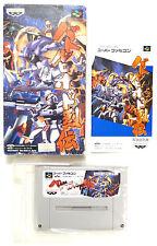 "Nintendo Super Famicom SFC ""Battle robot Retsuden"" NTSC-J jap jpn japón cib"