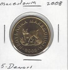 Macedonia 5 Denari, 2008