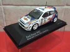 Minichamps 1/43 FORD Focus RS WRC Rally Catalunya 2000 McRae / Grist 430008905