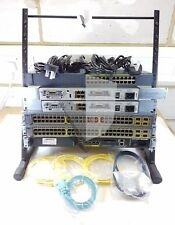 CISCO CCNA CCNP SECURITY LAB KIT 2x 1841, 1x 2960, 2x 3750, 1x ASA 4x WIC-1T