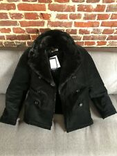 Fred Perry X Miles Kane Fur Lined Peacoat size M