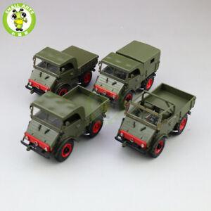 1/43 Mercedes Benz Unimog 401 Car Diecast Model Truck Toys Kids Boy Gift