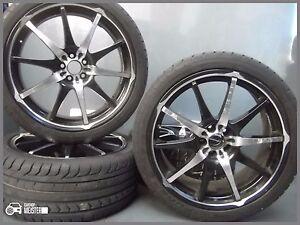 Rover 75 MG Dotz Audi Alloy Wheels 19 Inch Kumho New Winter Tyre 245 35 r19 93W