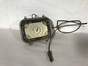 1937 CHRYSLER IMPERIAL ORIGINAL INSTRUMENT CLUSTER 37