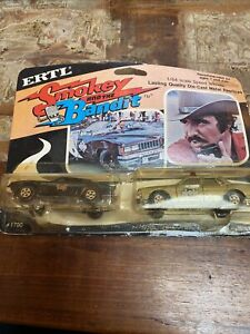 Vintage Rare Sealed ERTL Diecast Smokey And The Bandit Twin Car Pack #1790 1980