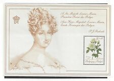 """BELGIUM  #B1071    MNH   S/S   """"VARIOUS FLOWERS FROM 60 ROSES FOR A  QUEEN"""""""