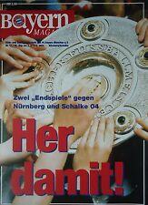 Programm 1993/94 FC Bayern München - FC Nürnberg / FC Schalke 04