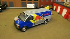 DCP#30951 RED BULL ENERGY DRINK'S GM Chevy Express Cargo Delivery Van 1:25/CL